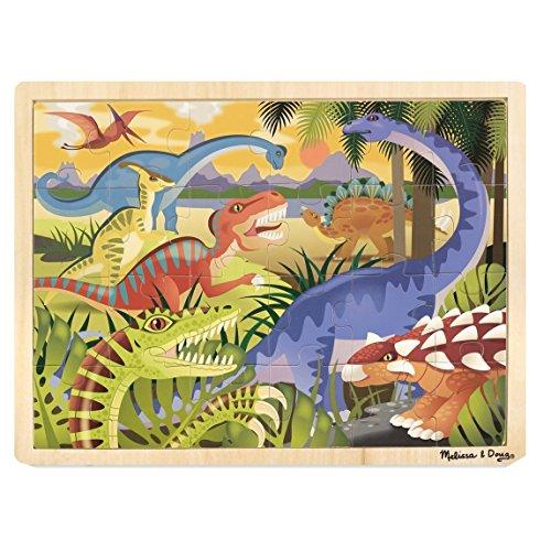 Melissa & Doug - 19066 - Puzzle En Bois - Dinosaures