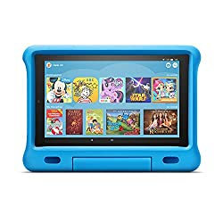 Fire HD 10 Kids Edition-Tablet | 10,1 Zoll, 1080p Full HD-Display, 32 GB, blaue kindgerechte Hülle