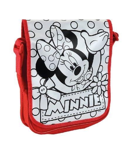 Simba 106375387 - Color Me Mine Minnie Mouse Messenger Bag