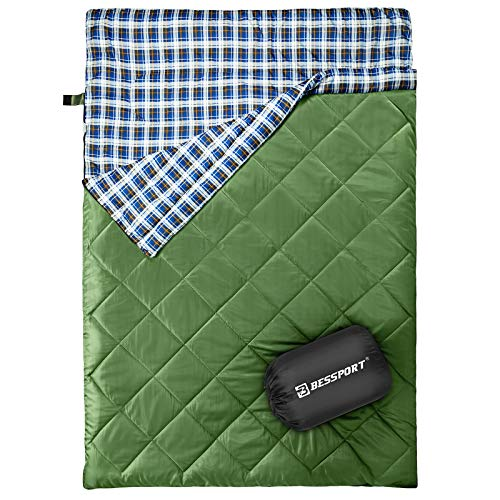 for Camping Forceatt Double Sleeping Bag//Super Large Sleeping Bag Suitable for 3-4 Seasons Backpacking and Indoor Activities. Hiking Waterproof and Tear-Proof Easy to Carry Outdoor
