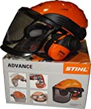 Stihl Helmset Advance mit Nylongitter