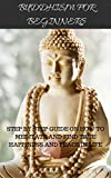 BUDDHISM FOR BEGINNERS: STEP BY STEP GUIDE ON HOW TO MEDITATE AND FIND TRUE HAPPINESS AND PEACE IN LIFE (BUDDHA TEACHINGS,MEDITATION,ZEN,ANXIETY) (English Edition)
