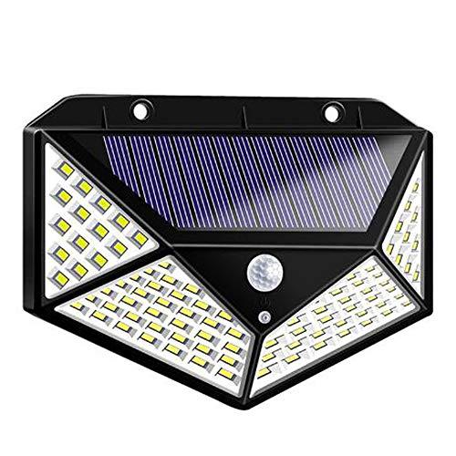 100LED Waterdichte Vierzijdige Inductie Wandlamp Op Zonne-energie, Buitenlamp Voor Binnentuin, Gebruikt Voor Buitenlamp Voor Binnen