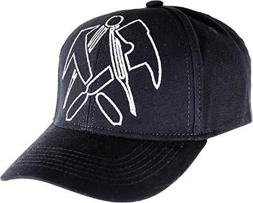 JOB Dachdecker-Cap mit Zunft-Emblem schwarz - verstellbar