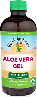 Lily of the Desert Aloe Vera Gel, Whole Leaf, 32 Ounces