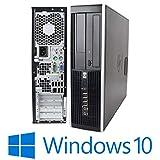 HP PC Fisso Desktop WINDOWS 10 PRO 2020 8000 SFF GRADO A Intel Core 2 Duo (Ricondizionato)