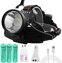 LED hoofd fakkel led zoom koplamp vissen koplamp jacht krachtige verlichting zaklamp hoofd licht