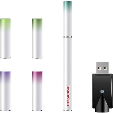 Eonfine 電子タバコ 使い捨て スターターキット(ホワイト) 電子たばこ 電子タバコ