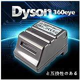 Bateria RB01 14,8 V 6600 mAh compatible con Dyson 360eye 360 Eye...