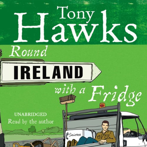 Round Ireland with a Fridge audiobook cover art