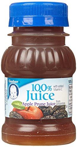 Gerber+Juices+Apple+Prune+4+Oz+-+6+Pack