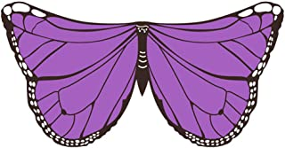 Halloween Elf Wings Cloak Soft Fabric Bright colors Cosplay Accessory Children's day props for kids,J