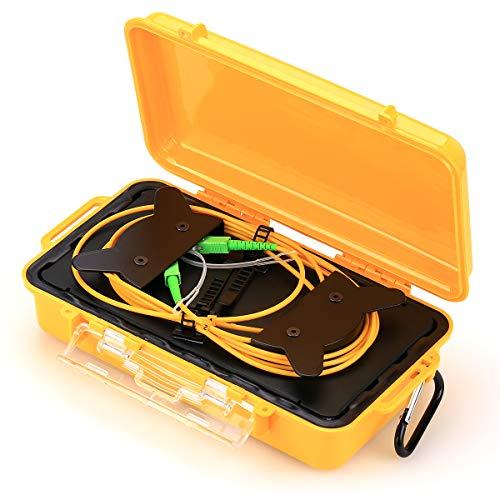 Glasfaser-Testgerät SC/APC SM(9/125) OTDR Launch Cable Box 1 km Verlängerungskabel OTDR