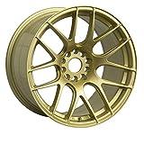 XXR WHEELS 530 Rim 15X8 4X100/4X114.3 Offset 20 Gold (Quantity of 1)