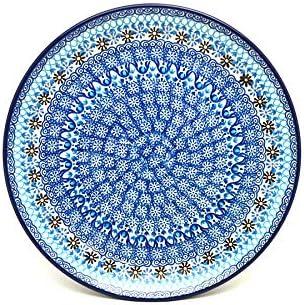 Polish お買い得 Pottery Plate 激安 激安特価 送料無料 - Blue Yonder Dinner 10