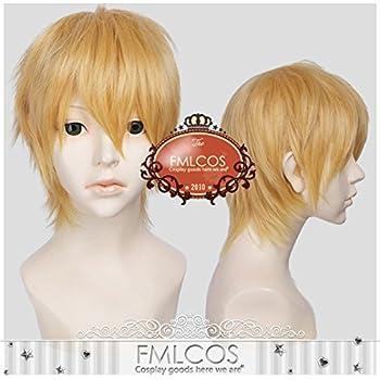 耐熱コスプレウィッグ 山姥切国広 刀剣乱舞ONLINE(とうらぶ)かつら cos wig  sunshine onlineが販売+おまけ