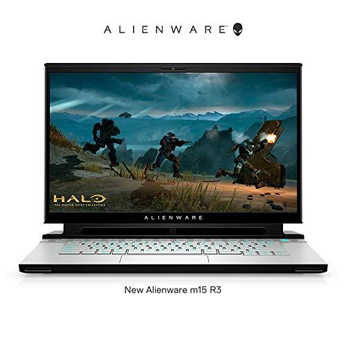 DELL Alienware m15(R3) 15.6-inch FHD Gaming Laptop (10th Gen i7-10750H / 16 GB / 1TB SSD / Nvidia RTX 2060 6GB / Win 10 + MS Office / Lunar Light) D569917WIN9