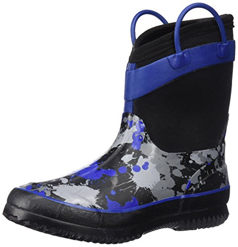 Western Chief Kids Cold Rated Neoprene Boot, Paintball Splat, 11/12 M US Little Kid