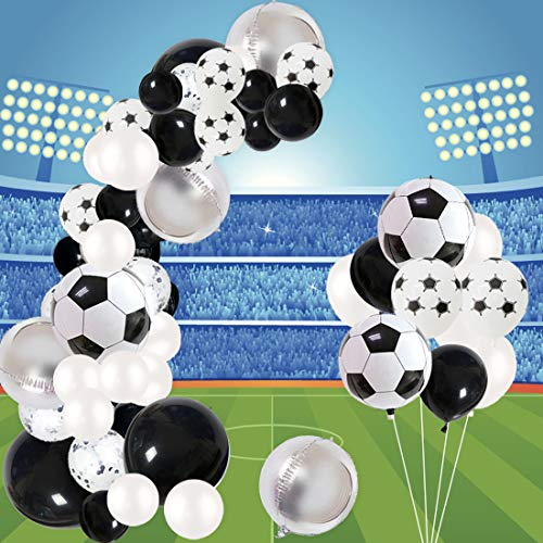 Jollyboom Soccer Party Decorations Balloon Garland Kit for Birthday Baby...