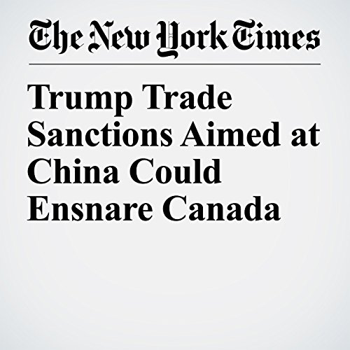 Trump Trade Sanctions Aimed at China Could Ensnare Canada copertina