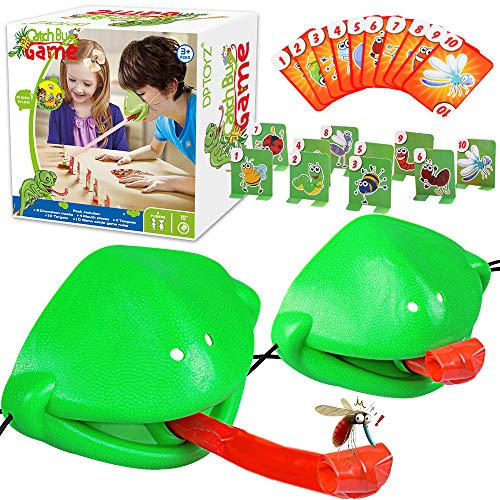 Kids Games, Tic Tac Tongue Game - Family Board Games for Kids Ages 4, 5, 6, 7, 8, 9, 10 Year Old Boys Girls, Games for Kids Ages 4-8 for Christmas Birthday Gifts