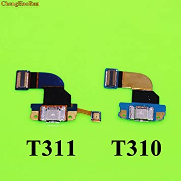 Gimax For Samsung Galaxy Tab 3 8 0 T311 Sm T311 T310 Usb Charging Port Charger Dock Connector Flex Cable Color T311 Amazon Com