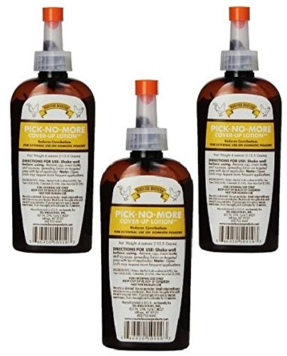 (3 Pack) Rooster Booster Pick No More, 4 Ounce Each