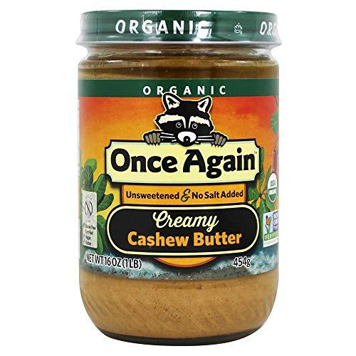 Once Again Organic Creamy Cashew Butter