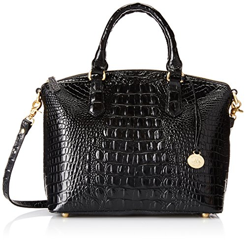 Brahmin Duxbury Satchel Convertible Top Handle Bag, Black, One Size
