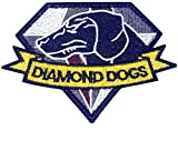 Cobra Tactical Solutions DIAMOND DOGS Logo METAL GEAR SOLID V THE PHANTOM PAIN Parche Bordado...