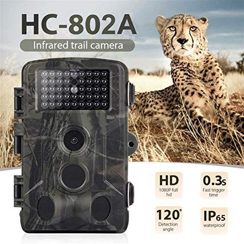 WANGMEILING Jagdkamera wildkamera HC300M HT001B HC801A HC801LTE 4G-Jagd-Kamera 12MP 940nm Nachtsicht MMS GPRS Foto Traps Trail Kamera Dropship (Color : 802A)
