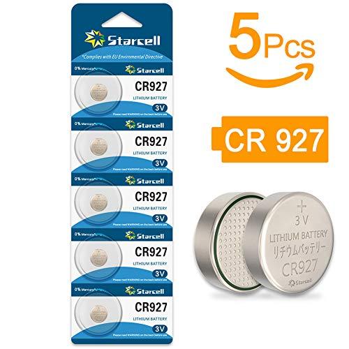 Starcell CR927 Lithium-Knopfzellenbatterien, 3 V 5 Pcs