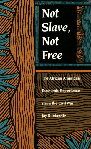 Not Slave, Not Free: The African American Economic Experience Since the Civil War