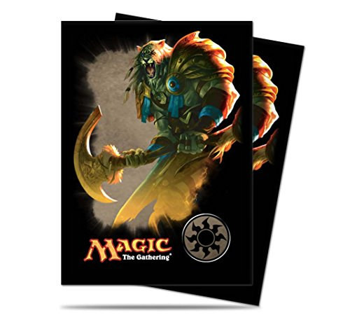 Magic the Gathering Mana 4 Planeswalkers 'Ajani - White' Deck Sleeves - 80 Ct