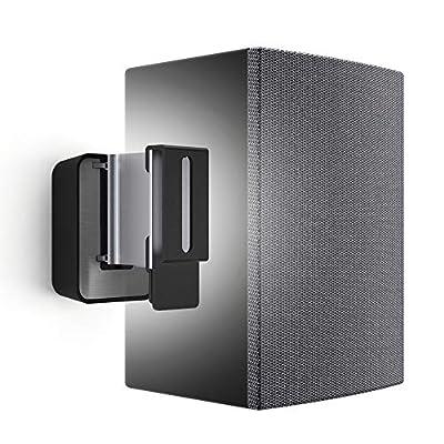 Vogel's SOUND 3200 Black, Universal speaker wall mount, Max 5 Kg, Tilt 30? and Swivel 70?, Also suitable for Denon Home 150 (1x) from Vogels