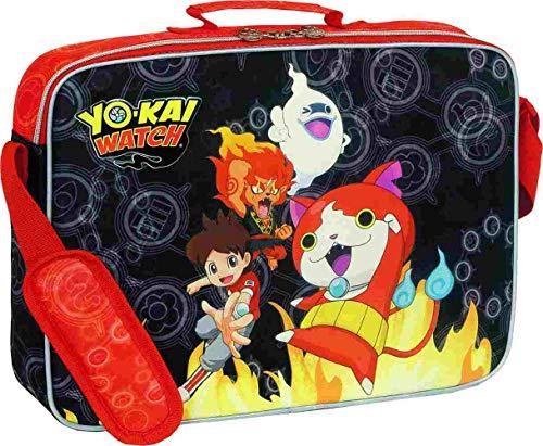 Sportandem Yo Kai Watch Fire Mochila Tipo Casual, 38 cm, Multicolor