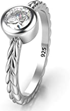 Best bezel engagement ring on hand Reviews