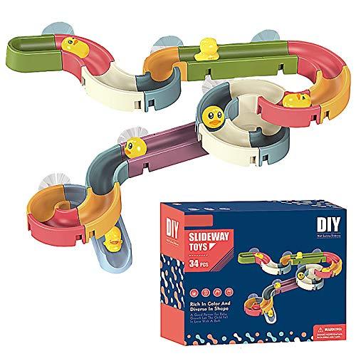 LOOKAa Selbstgemachte Kugelrutsche, Kinder können selbst zusammenbauen, was hilft, die praktischen Fähigkeiten der Kinder zu fördern. Gr. One size, 1 x 34 Stück