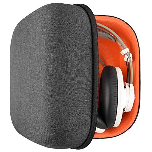 Geekria Tasche Kopfhörer für AKG Q701, K701, K702, K712 Pro, K812, K872, K99, K92, K77, K72, N90Q, Schutztasche für Headset Case, Hard Tragetasche