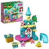 LEGO Duplo Princess Il Castello Sottomarino di Ariel con Bambola della Sirenetta, Principesse Disney, Giocattoli per Bimbi dai 2 ai 5 Anni, 10922