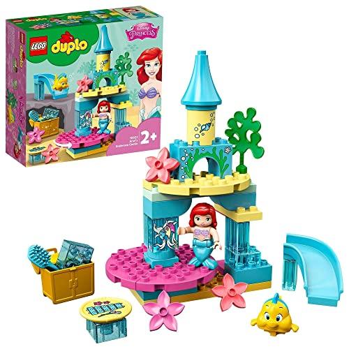 LEGO 10922 DUPLO Disney Princess Arielles Unterwasserschloss mit Arielle der kleinen Meerjungfrau für Kleinkinder im Alter von 2–5 Jahren