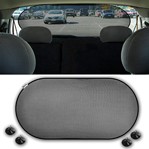 Zento Deals Car Rear Window Sunshade Screen Mesh Cover 1pc