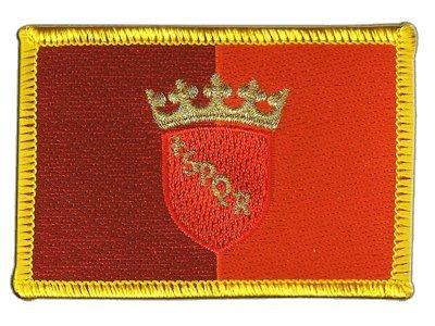 Aufnäher Patch Flagge Italien Rom - 8 x 6 cm