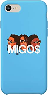 Amigos Friends Tribute Band Migos iPhone 6 7 8 X Plus Plus Phone Case Cover Estuche para Funda de Teléfono De Carcasa Casco Protector Plástico Duro Divertido