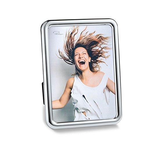 Philippi Crazy Rahmen, 13 x 18 cm Bilderrahmen, Nickel, Silber, 13 x 13 x 18 cm