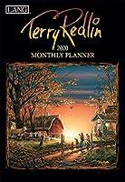 Lang Terry Redlin 2020 マンスリープランナー (20991012117)