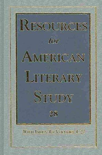 Price comparison product image Resources for American Literary Study: Vol 28