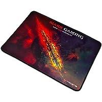 Mars Gaming MMP1 Alfombrilla Gaming para PC (Máxima Precisión con Cualquier Ratón, Base de Caucho Natural, Máxima Comodidad, Bordes Reforzados, Medium/ 35 x 25 cm)