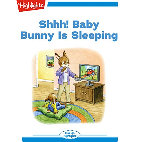 Shhh Baby Bunny Is Sleeping copertina