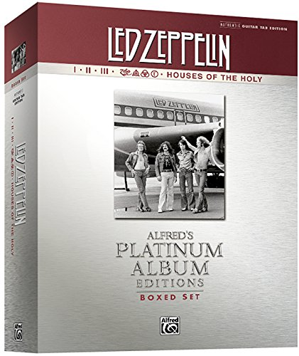 Led Zeppelin I-V Platinum Guitar: Authentic Guitar Tab: I-Houses of the Holy Platinum Ed.